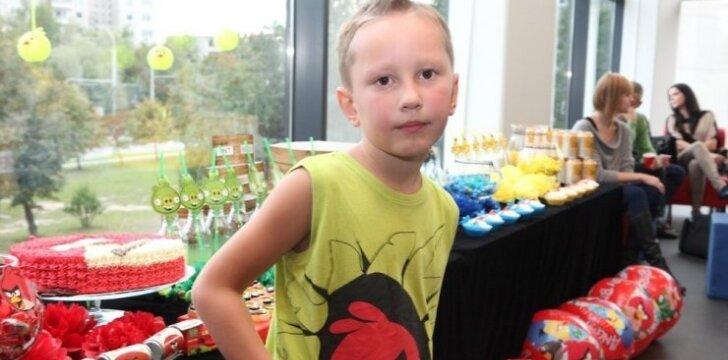 """Triukšmingas Ingos Budrienės sūnaus Kerniaus aštuntasis gimtadienis su Angry Birds <span style=""""color: #ff0000;""""><sup>FOTO</sup></span>"""