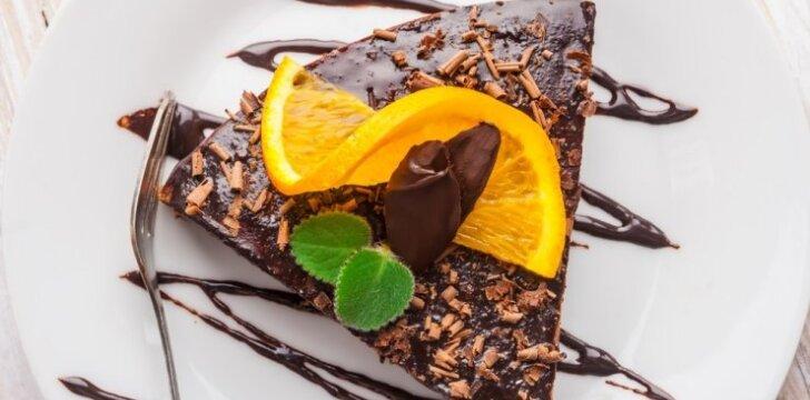 Šokoladinis apelsinų pyragas
