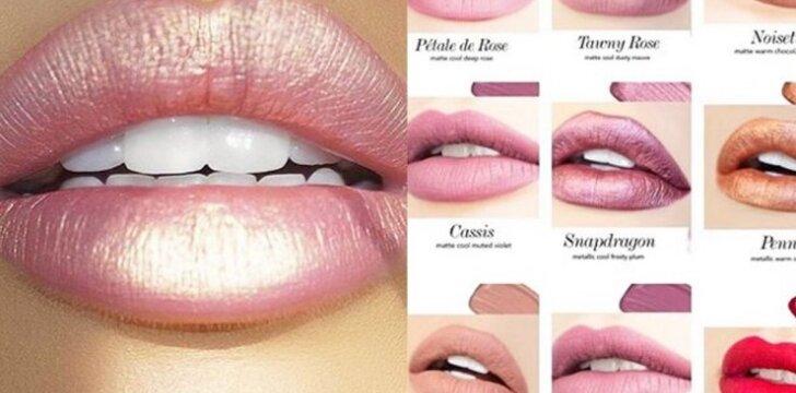 <em>Pinterest</em> sklando lūpų nuotrauka, dėl kurios merginos kraustosi iš proto