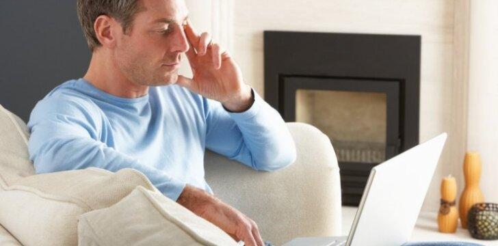 Ar naudojimasis nešiojamuoju kompiuteriu gali pakenkti vaisingumui?