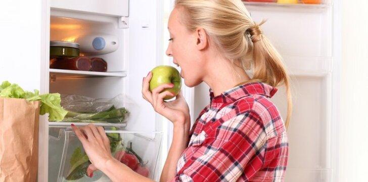 """<span style=""""color: #ff0000;"""">Valgau ir lieknėju:</span> maisto produktai, padedantys mesti svorį"""
