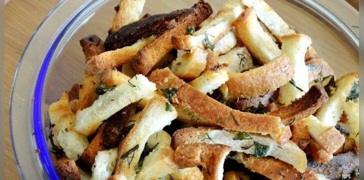 Kitaip kepta duona su česnaku: nustebsite paragavę