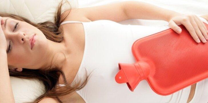 Svarbu išsiaiškinti, ar negalavimai per mėnesines nėra rimtesnės ligos priežastis.