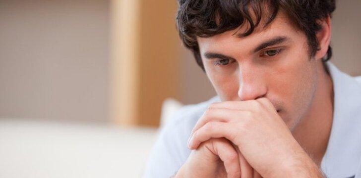 Ar jūsų vyrą kamuojantys skausmai nėra lėtinis prostatitas?