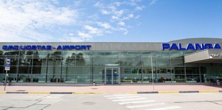 Palangos oro uostas atnaujina automobilių stovėjimo aikšteles