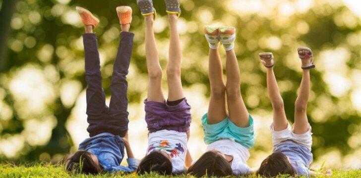 Eikime pažaisti į lauką: 8 smagūs žaidimai