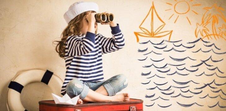 Tyrimas: šeimos atostogų metu svarbiausia – pramogos vaikams