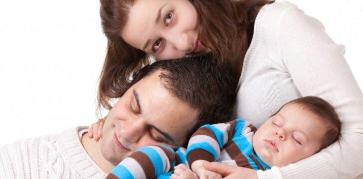 Didžiausias iššūkis, kurį patiria vaiko susilaukę tėvai
