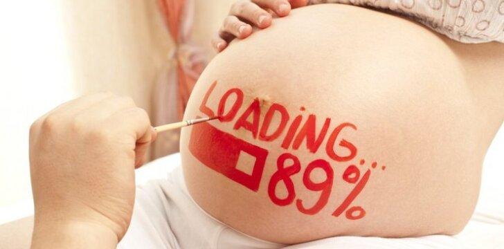 """Piešiniai ant nėščiosios pilvo: gražu ar bjauru? <sup style=""""color: #ff0000;"""">Foto</sup>"""