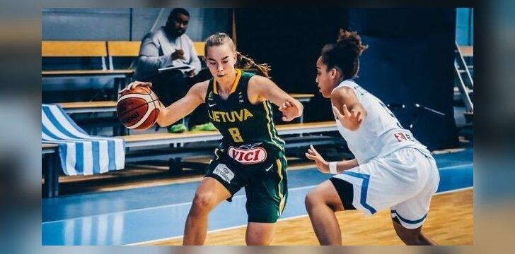 Merginų krepšinis: Lietuva U18 – Graikija U18
