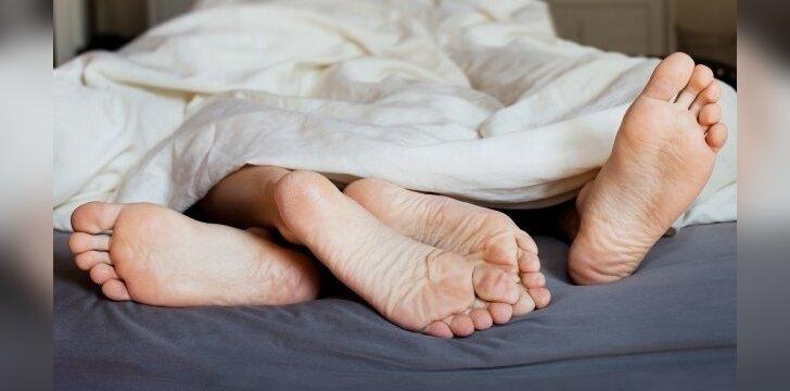 Atkreipk dėmesį į savo vyro miego pozą - tai daug ką apie jį pasako
