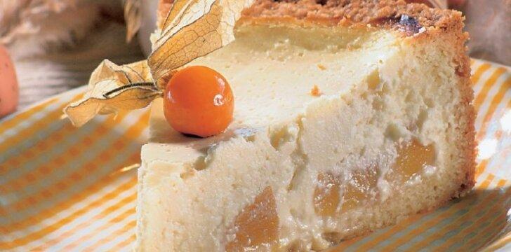 Vaisinis varškės pyragas
