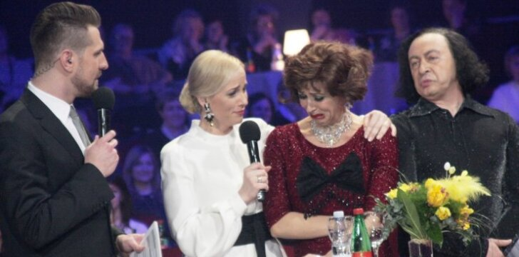 (Iš kairės) Mantas Stonkus, Inga Jankauskaitė, Ineta Stasiulytė ir Aistis Mickevičius