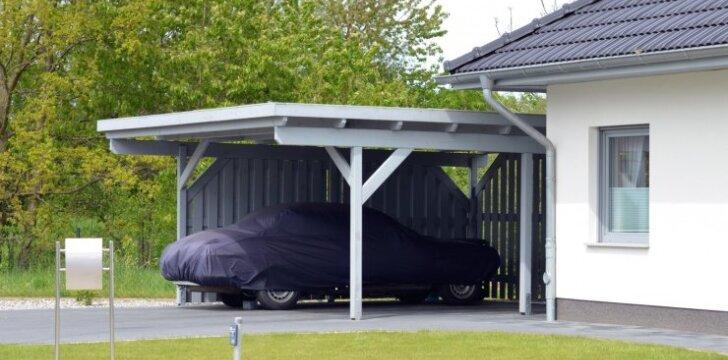 Stoginė - racionali ir pigi alternatyva garažui?