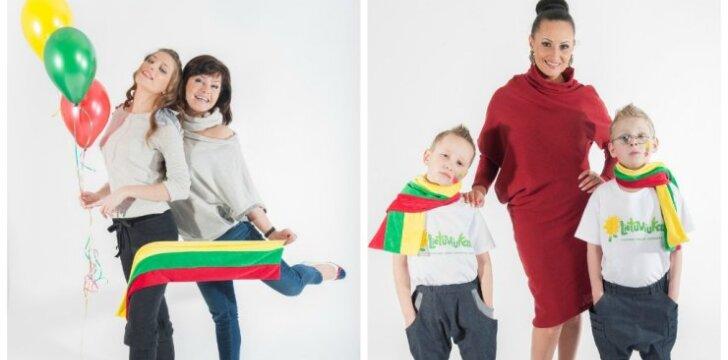 """Žinomi tėvai su vaikais - originalioje fotosesijoje <sup style=""""color: #ff0000;"""">FOTO</sup>"""