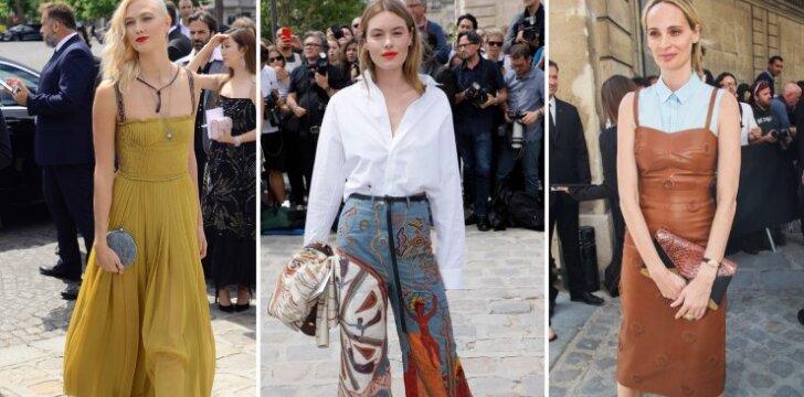 Aukštosios mados savaitė Paryžiuje subūrė stilingiausias moteris
