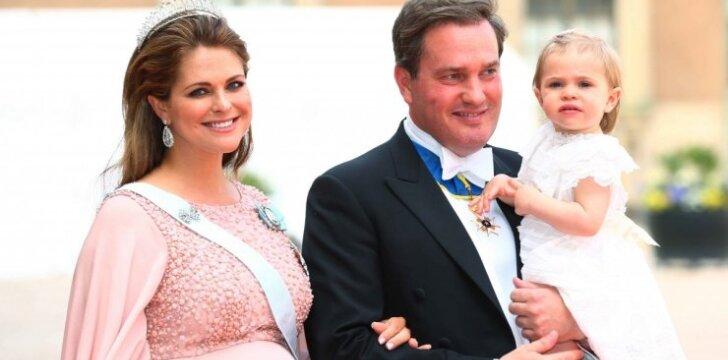 """Iš vestuvių – į gimdyklą: pagimdė Švedijos princesė <sup style=""""color: #ff0000;"""">(FOTO)</sup>"""