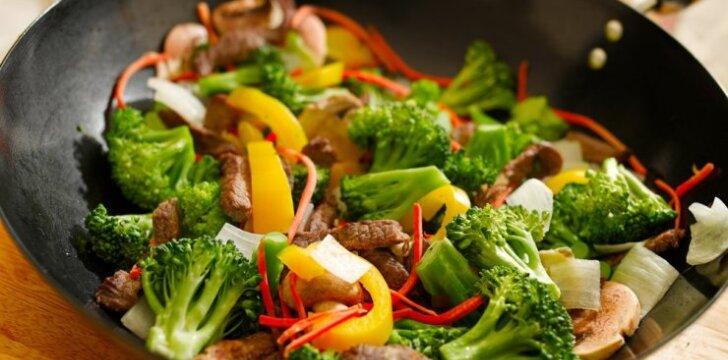 Kaip teisingai paruošti daržoves