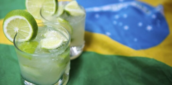 Caipirinha - tradicinis braziliškas kokteilis