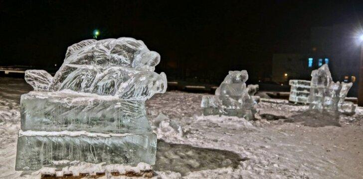Skulptūros iš ledo