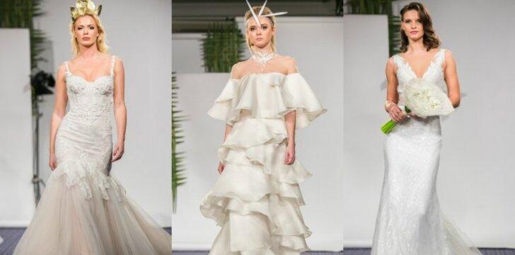 Pamatyk: naujausios vestuvinės suknelės, kurių kainos siekia tūkstančius eurų