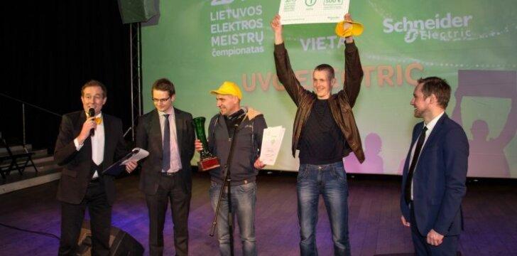 """II-ojo """"Lietuvos elektros instaliacijos meistrų čempionato 2015"""" nugalėtojais tapo vilniečiai"""