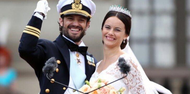 Švedijos karališkoje šeimoje vėl krykštauja naujagimis