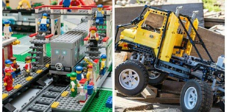 LEGO modeliavimas – ne tik vaikų užsiėmimas