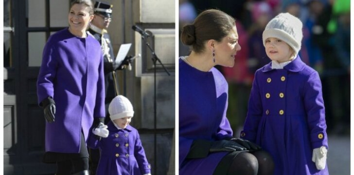 """Princesės sulaukė komplimentų dėl rūbų <sup style=""""color: #ff0000;"""">(FOTO)</sup>"""