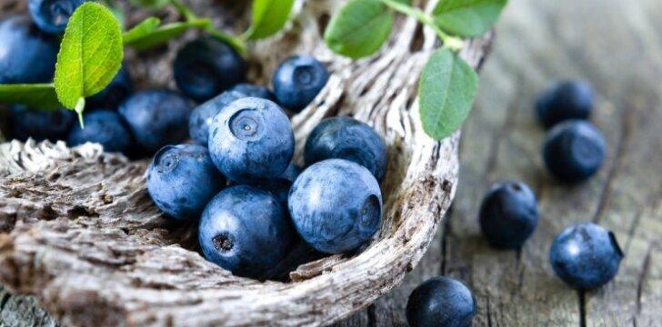 Mėlynės tolina senatvę, slopina uždegimus ir gerina regėjimą