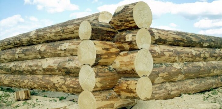 Medienos tipai rąstiniams pastatams - ką rinktis?