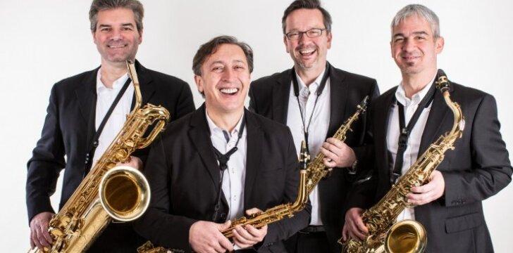 """Saksofonų kvartetas  """"Blattwerk"""""""