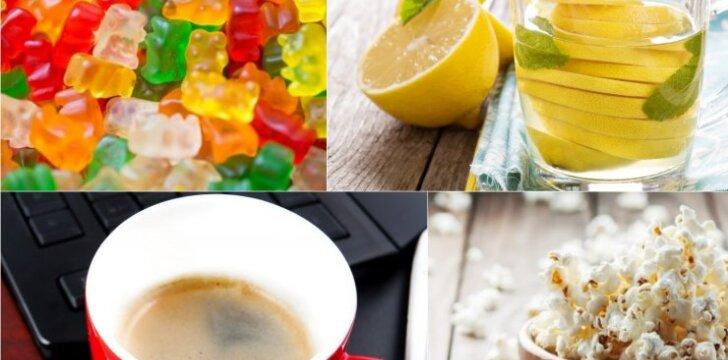 Maisto produktai, kenksmingi dantims