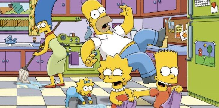 """""""Simpsonų"""" herojai: nustebsi pamačiusi, kokios asmenybės slypi už šių personažų (FOTO)"""