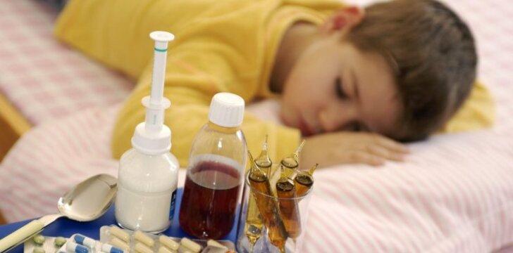 Kas nutinka mūsų organizmui, kai vartojame antibiotikus