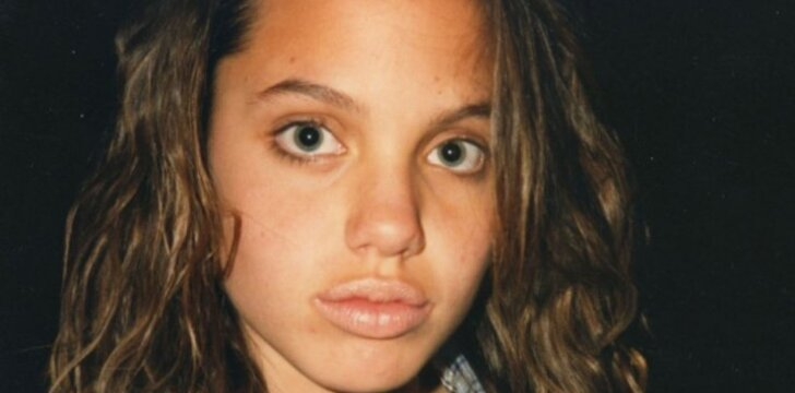 Angelina Jolie paauglystėje