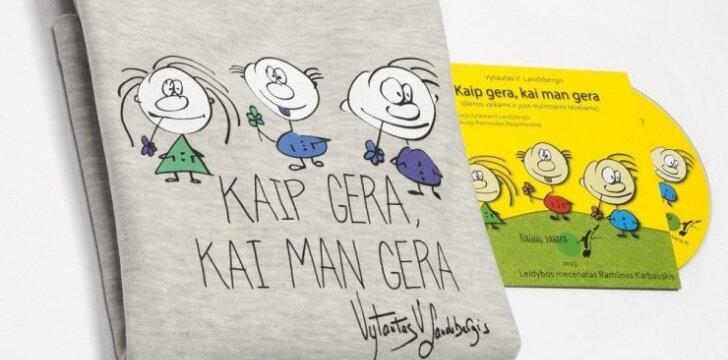 Pristatyta vaikų rūbų kolekcija, kurią įkvėpė Vytauto V.Landsbergio knygos