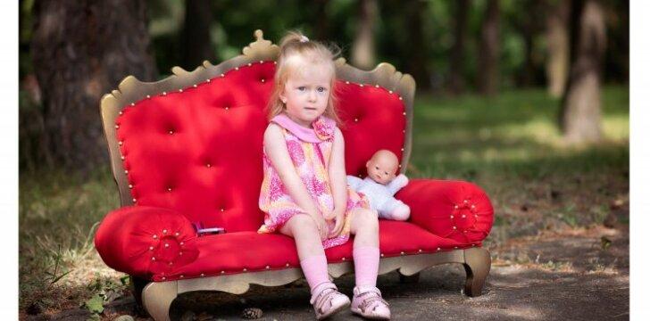 """Reta liga sergančiai Rusnei padėti kviečia <em>kitokių</em> vaikų ir jų tėvų diskriminavimą mažinanti akcija """"NeKiti"""""""
