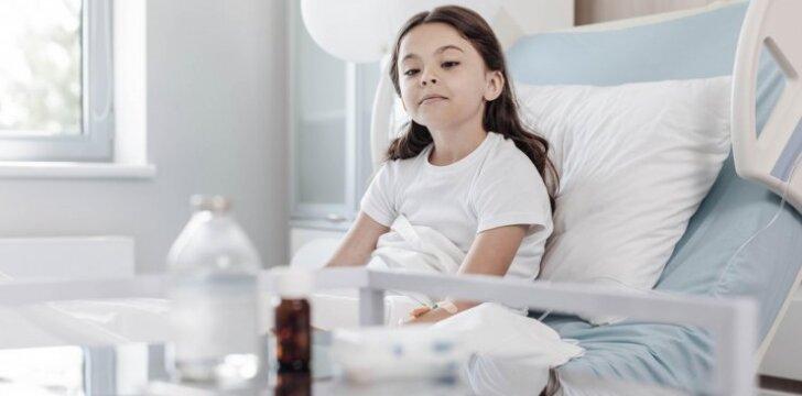 Vasarą suaktyvėjo meningitą sukeliantys virusai