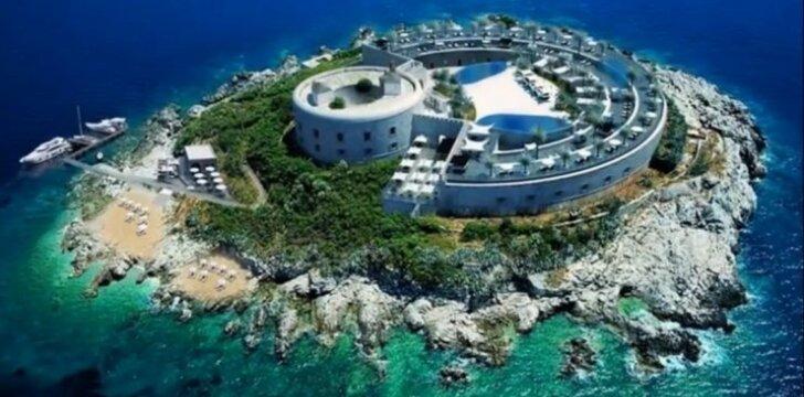 Mamulos sala - viešbučio vizualizacija