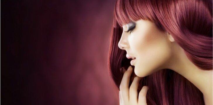 Derink plaukų atspalvį pagal odos spalvą