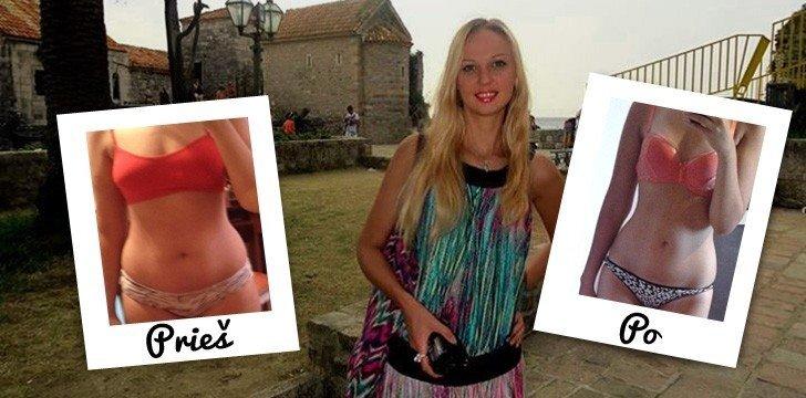 Šokiruojantis interviu: pirmą kartą gyvenime laikydamasi dietos, Agota sulieknėjo 8 kg per savaitę!