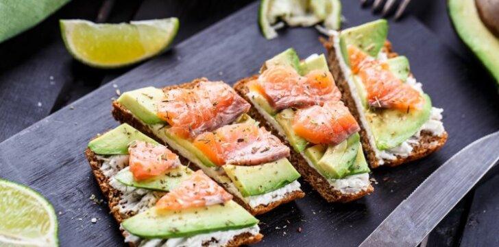 Sveiki ir sotūs sumuštiniai su avokadu