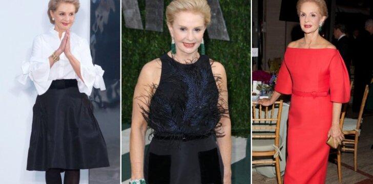 Stiliaus dosjė. Carolina Herrera – 78-erių dizainerė, įkūnijanti tikrąją amerikietišką eleganciją