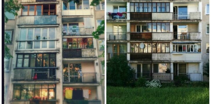 Balkonas – atviras ar įstiklintas?