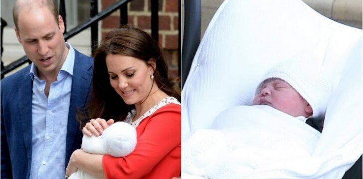 Pasauliui parodė dvi naujausias mažojo princo nuotraukas