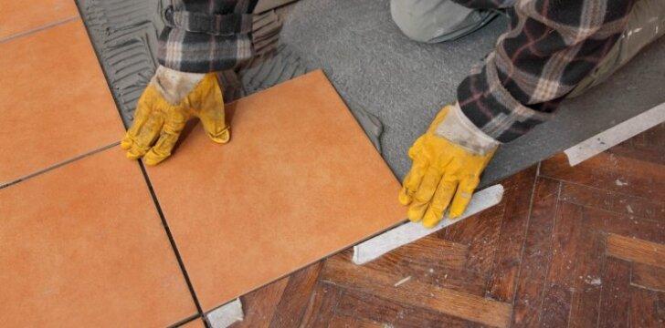 Patarimai, padėsiantys klojantiems keramikines plyteles
