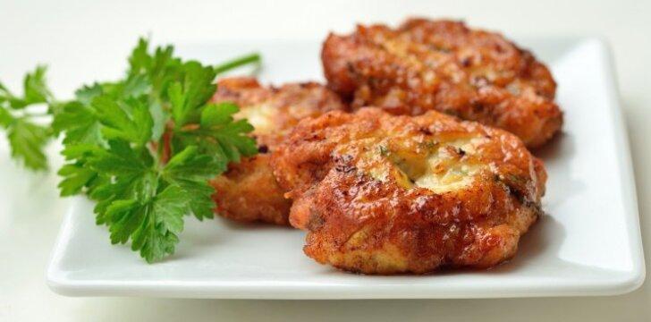 Minkštučiai vištienos ir grikių kotletukai
