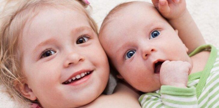 Idealus amžiaus skirtumas tarp vaikų: koks jis?