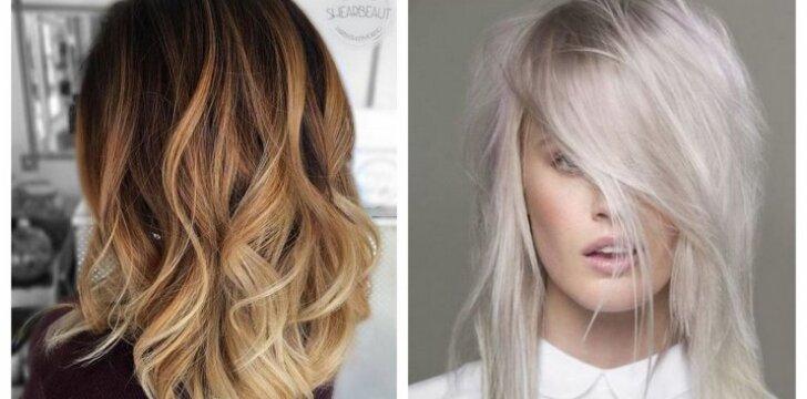 Penkios įspūdingiausiai atrodančios plaukų spalvos 2016 metams
